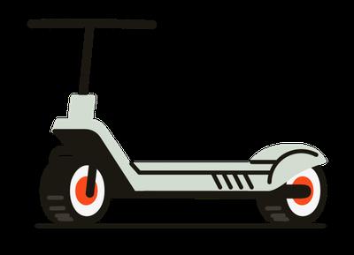 Trottinette électrique 3 roues