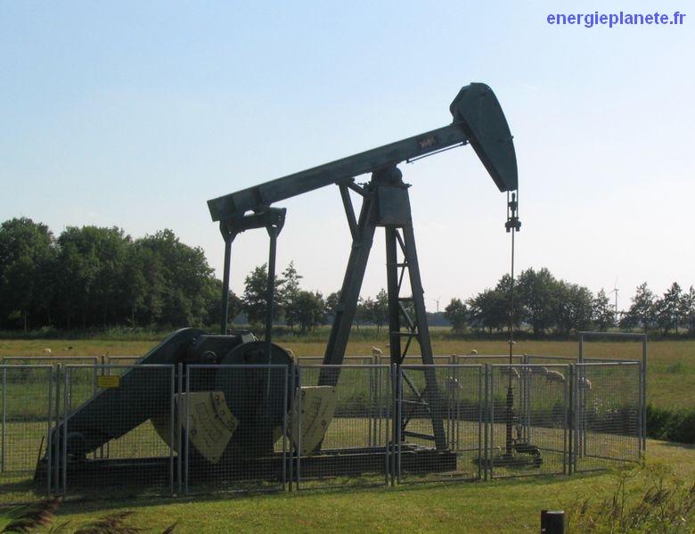 petrole pompage